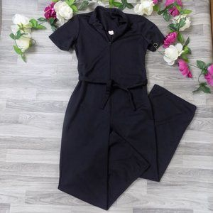 💜Vintage 1970s collared bodysuit w front zipper